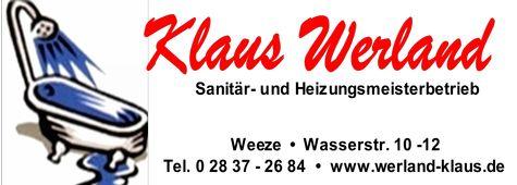 Sponsor Klaus Werland